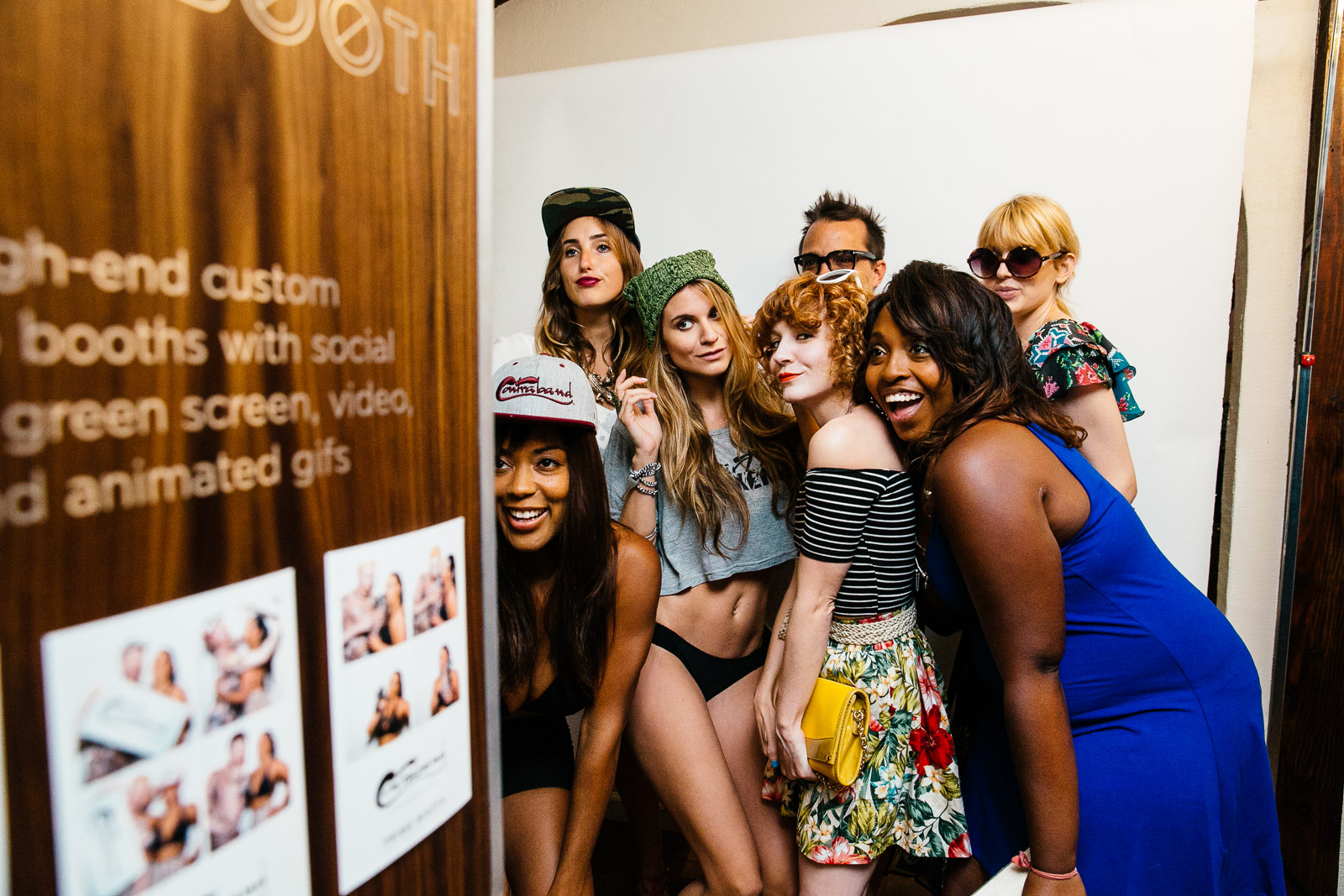 Best Photo Booth Rentals in Los Angeles - Custom, Open Air Photo Booths