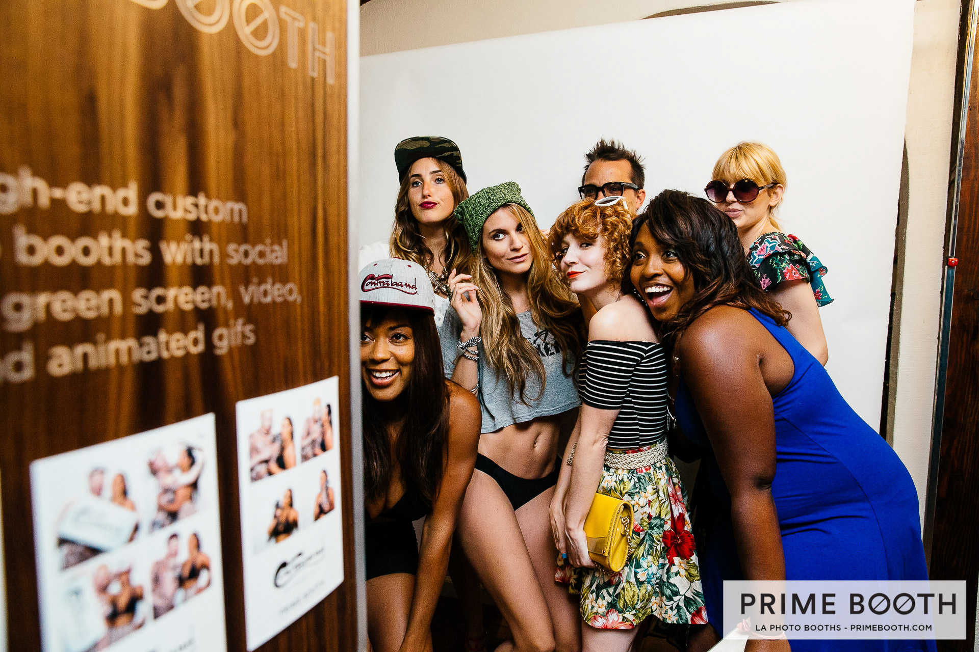 Contraband Hats Celebrity Gifting Photo Booth in Hollywood, California - Los Angeles (LA) Photo Booth Rentals