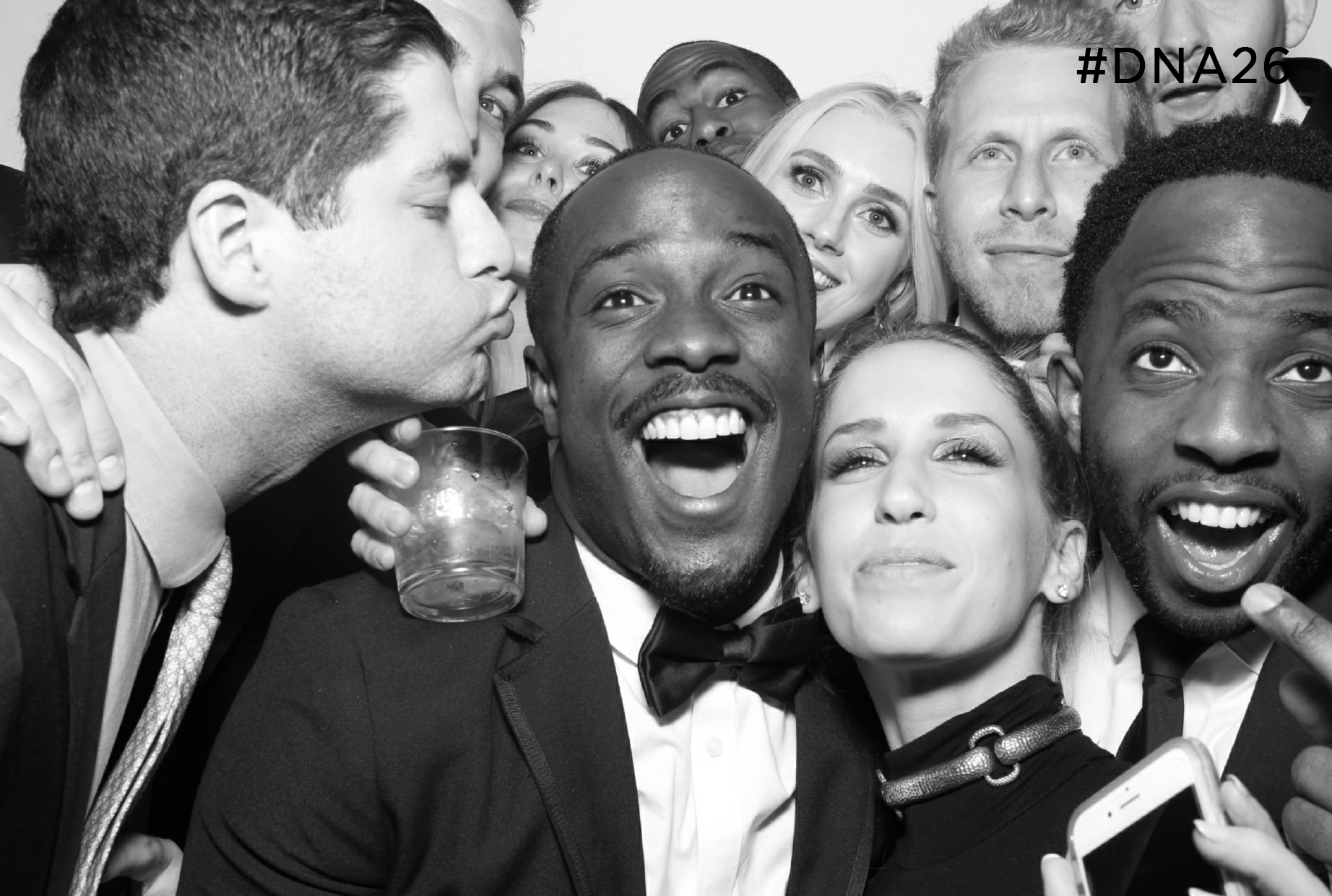 The Beverly Hilton Photo Booth - Alagem Capital Group - Beverly Hills Photo Booths