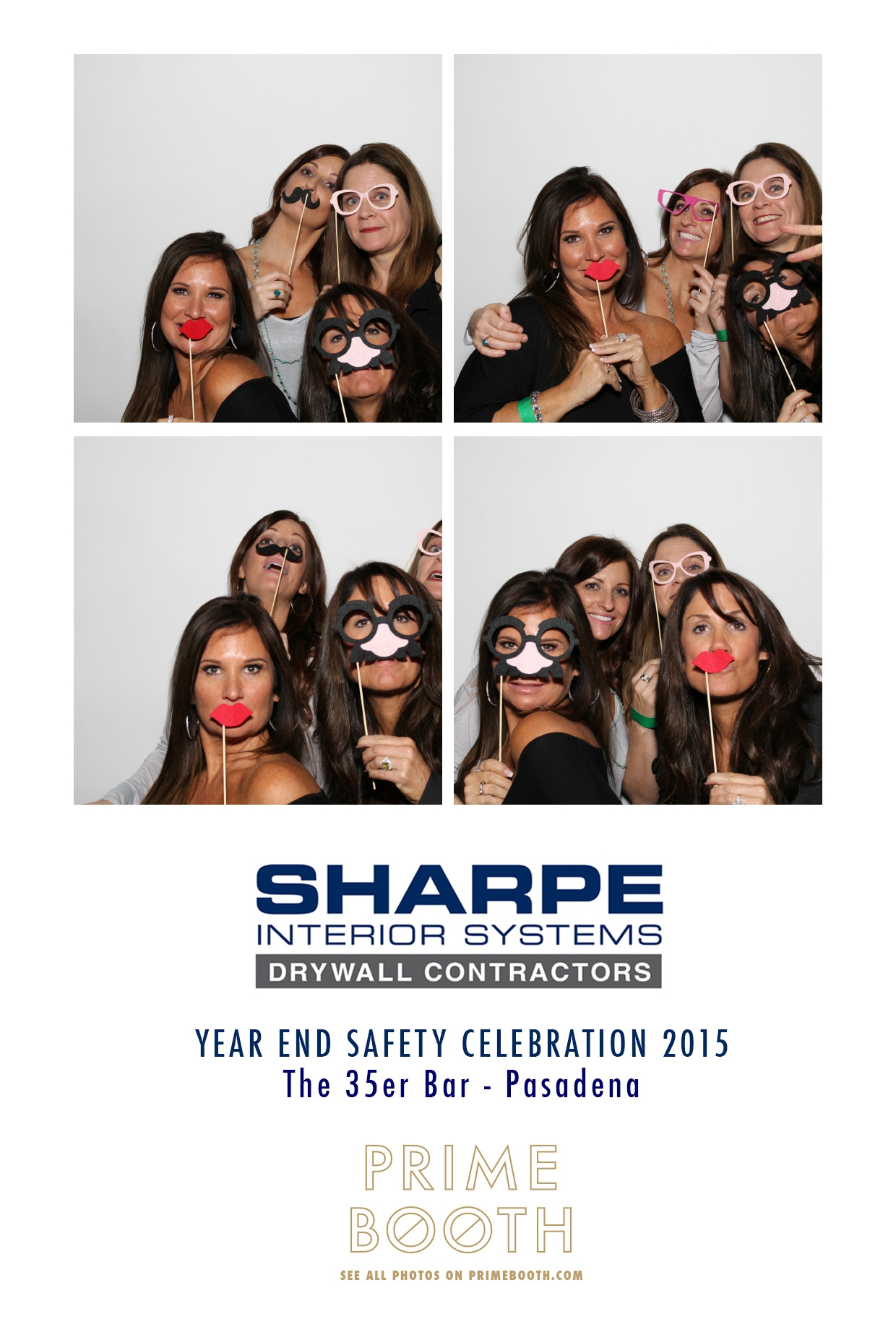 Sharpe Event at 35er Bar, Pasadena - Los Angeles Photo Booth Rentals - Prime Booth