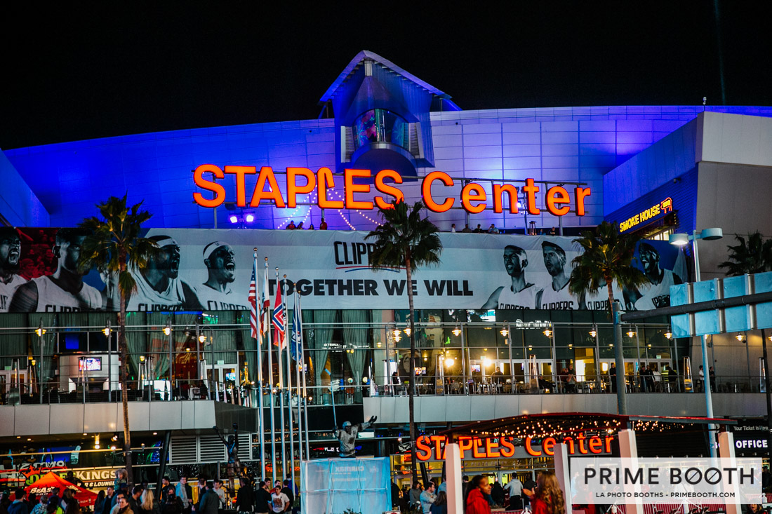 Staples Center Photo Booth - Lexus Photo Booth - LA Clippers Photo Booth