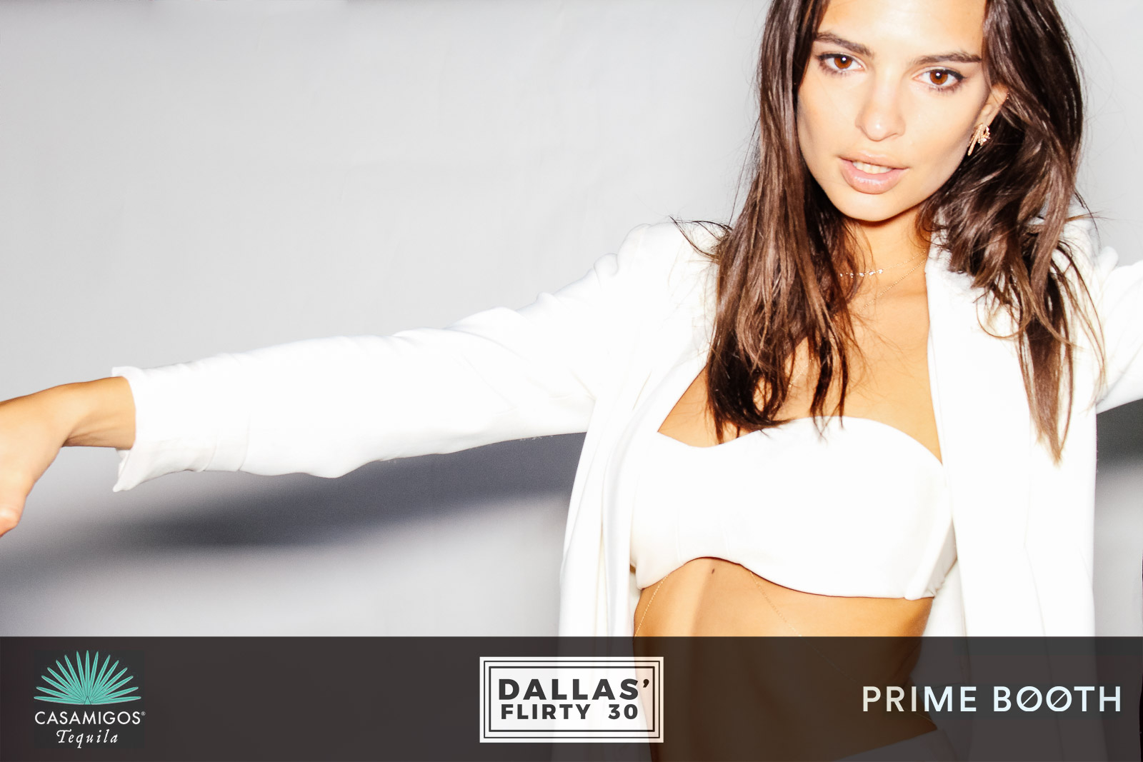 Emily Ratajkowski - Stone Cold Fox Photo Booth at Malibu Private Estate, CA