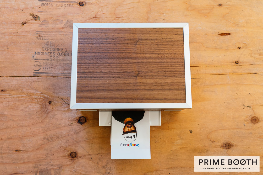 Los Angels Photo Booth Rentals - Photo Booth Print Station - Prime Booth