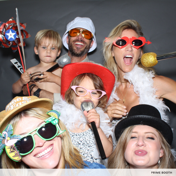 Circus-Themed Kids' Birthday Party Photo Booth - Hollywood, Los Angeles, California